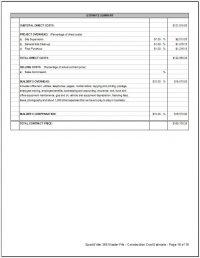 SW-04-Estimate-Summary